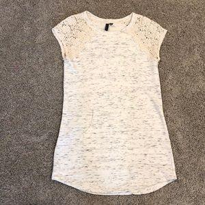 Cynthia Rowley spacedye sweatshirt dress